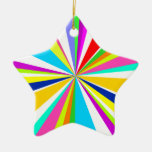 Anything But Gray Starburst Christmas Ornaments
