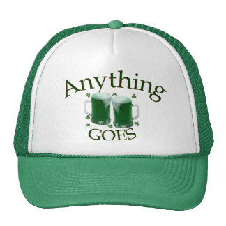 Anything Goes Green Hat
