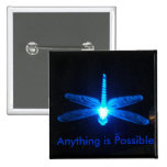 Anything is Possible 2 Inch Square Button