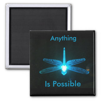 Anything is Possible 2 Inch Square Magnet