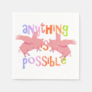 Anything is Possible Paper Napkin