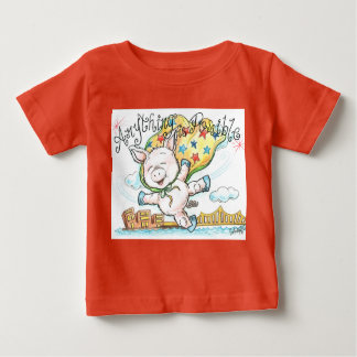 Anything Is Possible Piglet Baby Fine Jersey Tee