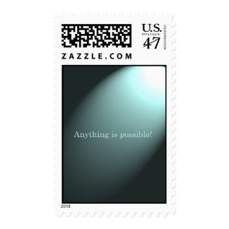 """""""Anything is Possible"""" Postage Stamp"""