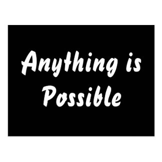 Anything is Possible Postcard
