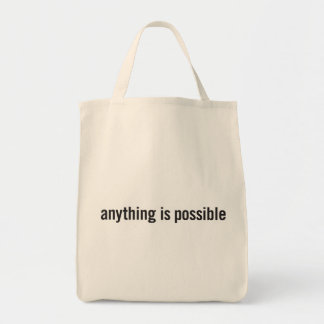 anything is possible tote