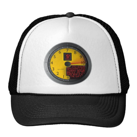 Anything Less Than Your Best Trucker Hat