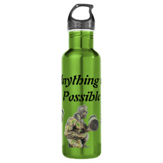 Anything of Possible Weightlifting Water Bottle