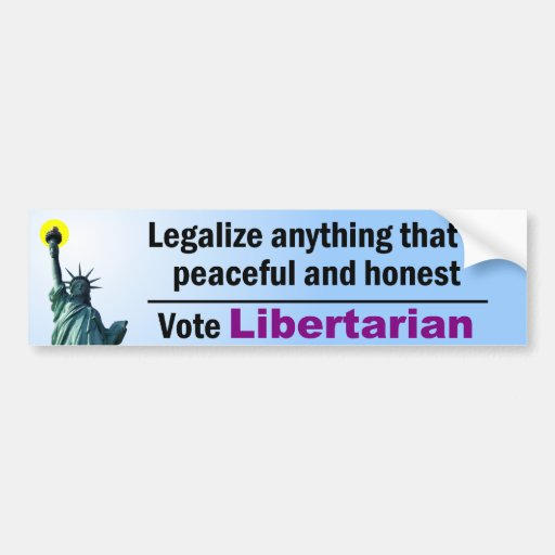 Anything Peaceful and Honest Car Bumper Sticker