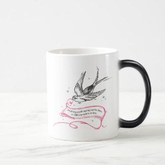 Anything Worth Saying... 11 Oz Magic Heat Color-Changing Coffee Mug