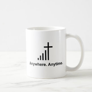 Anywhere. Anytime. Coffee Mug