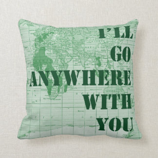 Anywhere with You Pillow