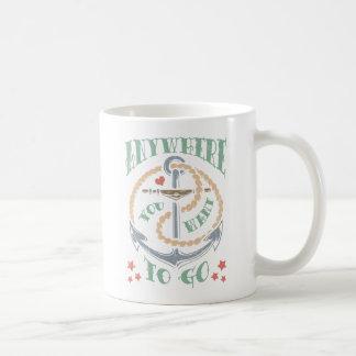 Anywhere You Want Coffee Mug