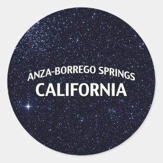 Anza-Borrego salta California Pegatina