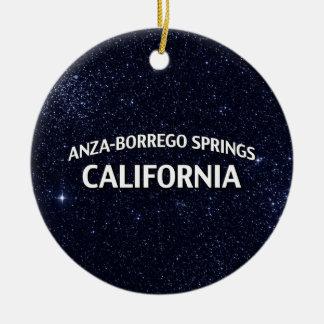 Anza-Borrego Springs California Ceramic Ornament