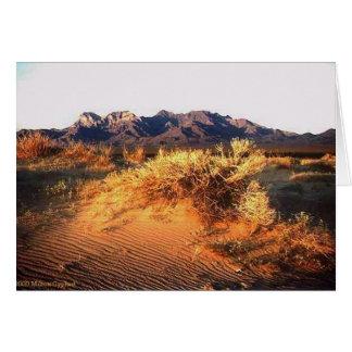 Anza Borrego Sunset Card