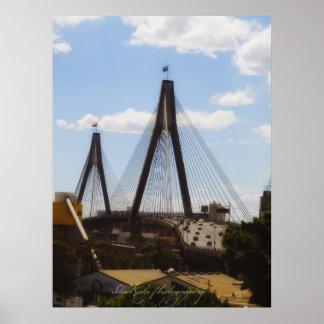~ANZAC BRIDGE~ POSTER