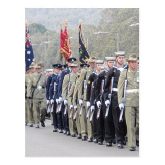 ANZAC Parade Postcard