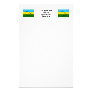 Anzoátegui Flag Stationery