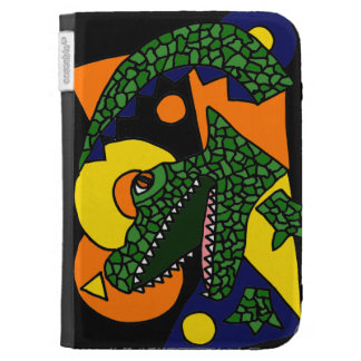 AO- Awesome Gator Art Kindle Case