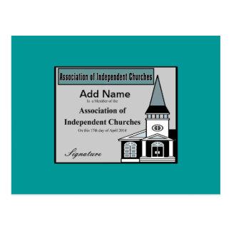 AofIC membership Card