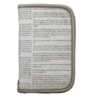 AOGG NEWSPAPER WORDS GRUNGE STORY BACKGROUNDS WALL FOLIO PLANNERS