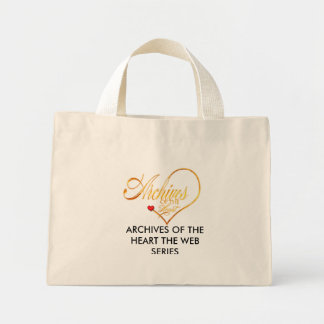 aohlogo, Archives of The Heart the Web Series Mini Tote Bag