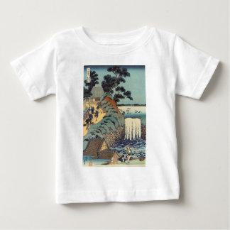 Aoi gaok waterfall, Katsushika Hokusai Baby T-Shirt