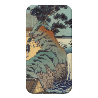 Aoi gaok waterfall, Katsushika Hokusai iPhone 4/4S Case