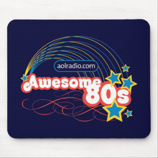 AOL Radio - Awesome '80s Mouse Pad