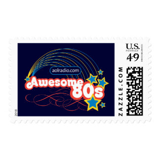 AOL Radio - Awesome '80s Postage Stamps