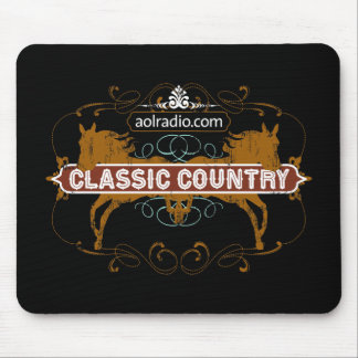 AOL Radio - Classic Country Mouse Pad