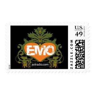 AOL Radio Emo Stamps
