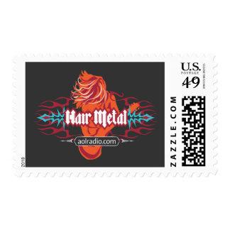 AOL Radio - Hair Metal Stamp