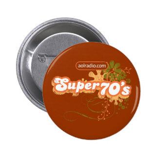 AOL Radio - Super '70s 2 Inch Round Button