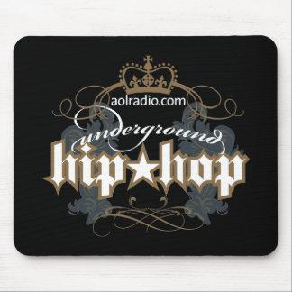 AOL Radio - Underground Hip-Hop Mouse Pad