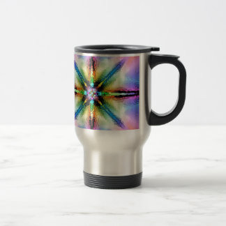 AOM Spite Pop Design (multicolored) Travel Mug
