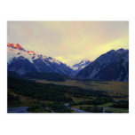 Aoraki Mount Cook at Sunrise, NZ Postcard