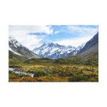 Aoraki / Mount Cook Canvas Print