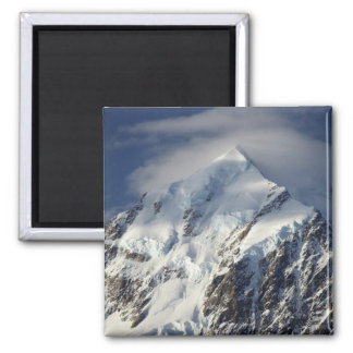 Aoraki Mount Cook, Mackenzie Country, South 2 Inch Square Magnet