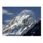 Aoraki Mount Cook, Mackenzie Country, South 2 Postcard