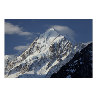 Aoraki Mount Cook, Mackenzie Country, South Poster