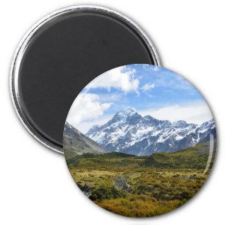 Aoraki Mount Cook Fridge Magnets