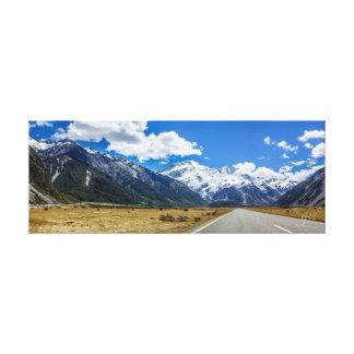 Aoraki Mount Cook National Park New Zealand Canvas Print