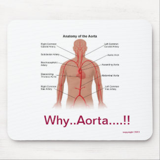 Aortic Anatomy Mousepad