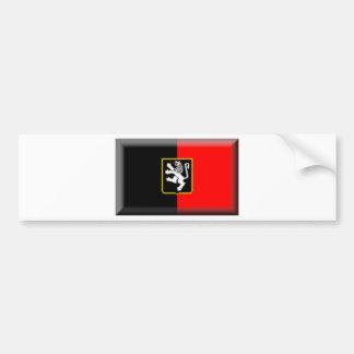 Aosta Valley Flag Bumper Sticker
