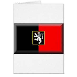 Aosta Valley Flag Greeting Card