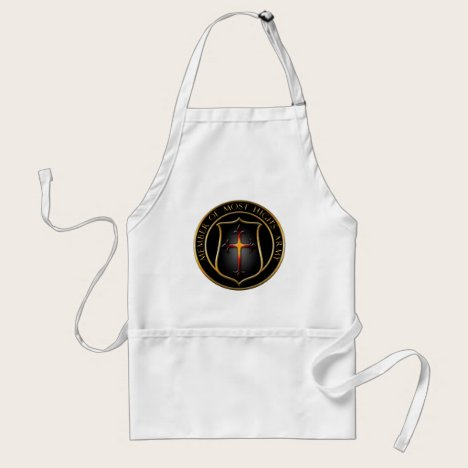 AotD badge apron. Adult Apron