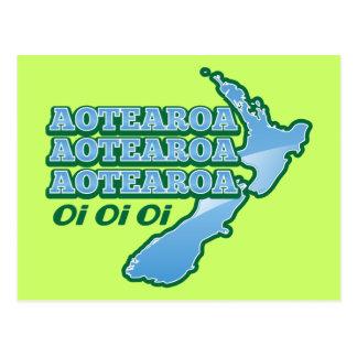 Aotearoa Aotearoa Aotearoa oi oi oi! from The Kiwi Postcard