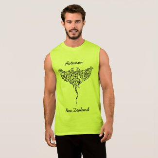 aotearoa new zealand stingray sleeveless shirt