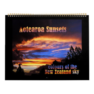 Aotearoa Sunsets Calendar